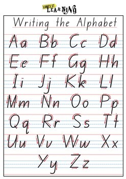 Handwriting Formation NSW Foundation Font