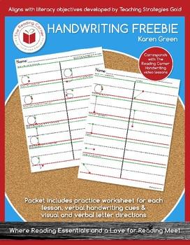 Handwriting FREEBIE