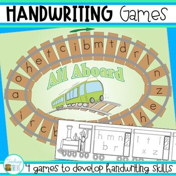 Handwriting Games for Developing Handwriting Skills