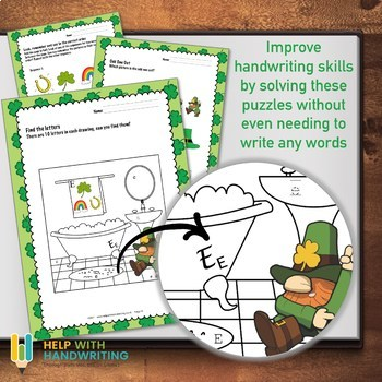 Kids St Patricks Day Puzzles