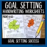 Handwriting Goal Setting Success
