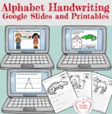 Handwriting / Google Slides and Printables