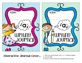 Handwriting Guides & Practice Sheets for Writing Interactive Journals