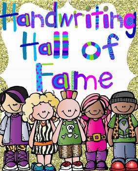 Handwriting Hall of Fame {Handwriting For All Year}