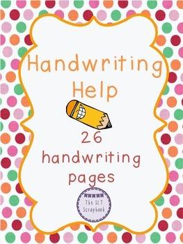 Handwriting Help
