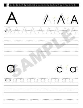 Handwriting Helper: Letters & Numbers