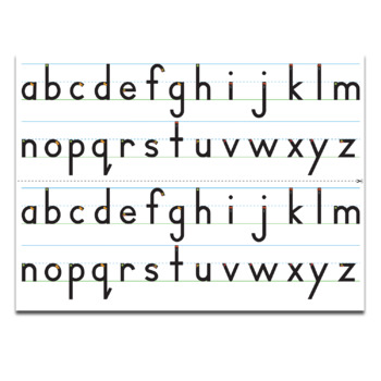 Handwriting Heroes Alphabet Desk Strip