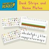 Alphabet Desk Strips and Name Plates