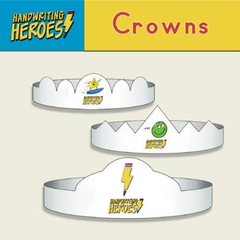 Handwriting Heroes Crowns