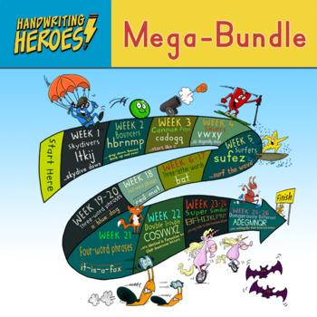 Handwriting Heroes Endless Bundle