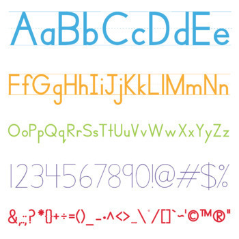 Handwriting Heroes School Fonts