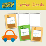 Letter Cards for handwriting and word building practice