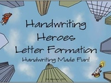 Handwriting Heroes Letter Formation Pack - Handwriting Made Fun!