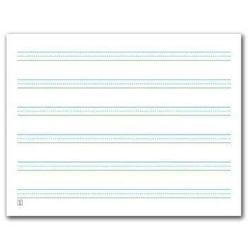 "Three-Lined Handwriting Paper and bonus ""Line Picker"" Assessment Tool"