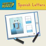 Handwriting Heroes: Spanish Letter Worksheets