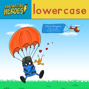 Handwriting Heroes: Lowercase Practice Workbook