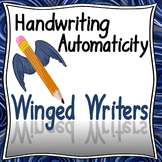Handwriting: Instruction that Works! 1st and 2nd grade Bundle -HWT Style Font