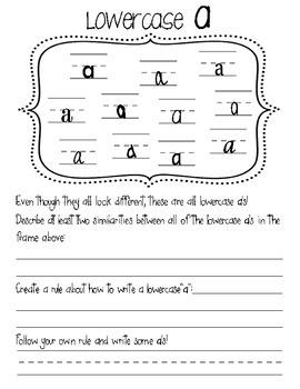 Handwriting Intervention