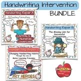 Handwriting Intervention: BUNDLE