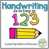 Handwriting: It's As Easy as 1,2,3!