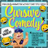 Handwriting Jokes D'Nealian Daily Cursive Practice Cursive Handwriting Practice