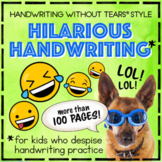 Handwriting Jokes Handwriting Without Tears® style Daily H
