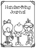Handwriting Journal Covers