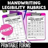 Handwriting Legibility Rubric