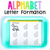 Handwriting Practice Worksheets | Letter Formation | Beginning Sounds Alphabet
