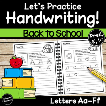 Handwriting Letters A-F