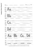 Handwriting: Letters Aa-Zz