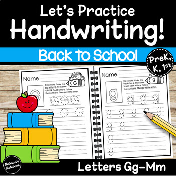 Handwriting Letters G-M