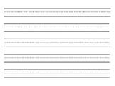 Handwriting Line Font