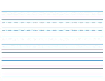 Line Paper Mesmerizing Handwriting Lined Paper For Kindergarten And 1St Gradecarrie .