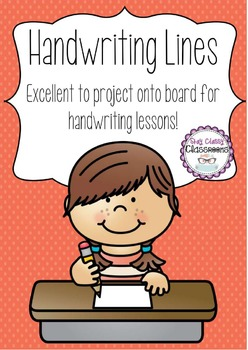 Handwriting Lines Pack