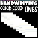 Handwriting Lines Slides | Teacher Appreciation #2 | Dista