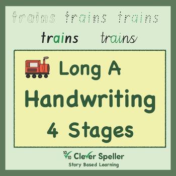 Handwriting Long a Words