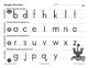 Printing Lowercase Letters Workbook