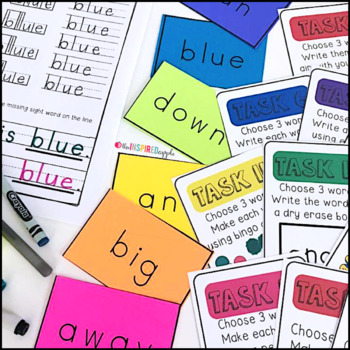Handwriting and Sight Word Practice BUNDLE