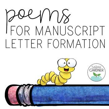 {Handwriting} Manuscript Letter Formation Poems