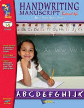Handwriting Manuscript - Traditional Style: Build Their Skills Workbook Gr 1-3