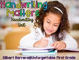 Handwriting Matters {Handwriting Unit}