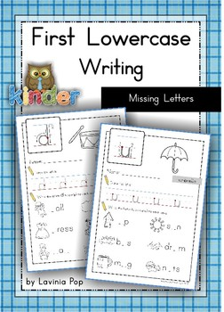 Handwriting - Missing Letters {Lowercase Letters}