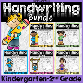 Handwriting No-Prep BUNDLE