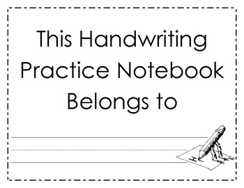 Handwriting Notebook