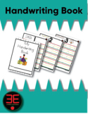 Handwriting Number Book