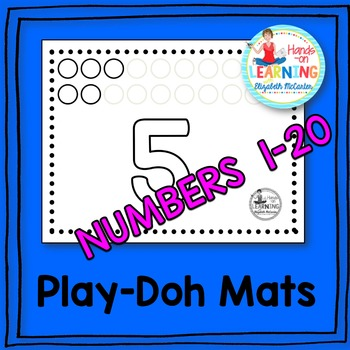 Number Play-Doh Mats
