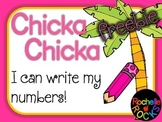 Chicka Chicka Boom Boom Handwriting Numbers
