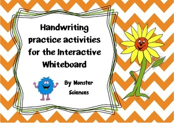 Handwriting Pack - 4 lessons for the whiteboard