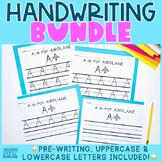 Handwriting Bundle | NO PREP Print & Go for Preschool Pre-